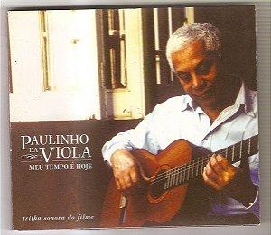 CD - Paulinho da Viola - Meu Tempo é Hoje  (Digipack)