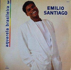 CD - Emílio Santiago - Aquarela Brasileira 3