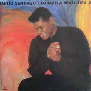 CD - Emílio Santiago - Aquarela Santiago 5