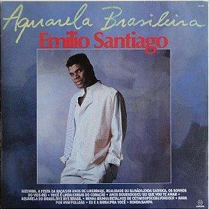 CD - Emílio Santiago - Aquarela Brasileira 1