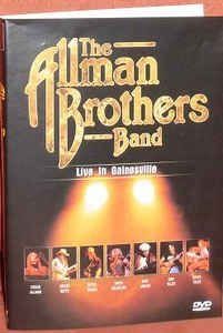 DVD - The Allman Brothers Band – Live In Gainesville