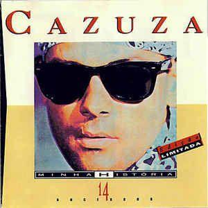 CD - Cazuza - Minha História - 14 Sucessos