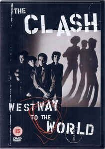 DVD - THE CLASH  WESTWAY TO THE WORLD