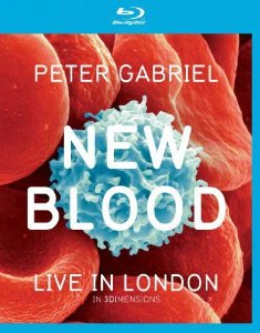 Blu-ray - PETER GABRIEL: NEW BLOOD - LIVE IN LONDON 3D
