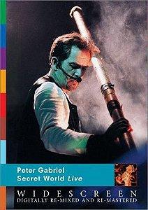 DVD -  PETER GABRIEL - SECRET WORLD