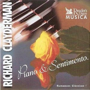 CD - Richard Clayderman - Piano & Sentimento - Disco 5