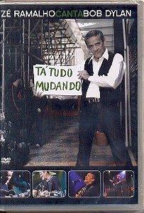 DVD - ZÉ RAMALHO CANTA BOB DYLAN
