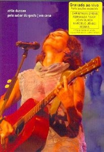 DVD - ZÉLIA DUNCAN PELO SABOR DO GESTO