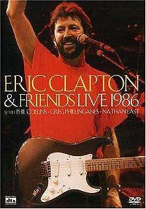 DVD - ERIC CLAPTON & FRIENDS - LIVE 1986