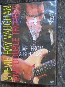 DVD - Stevie Ray Vaughan And Double Trouble ‎– Live From Austin, Texas