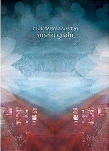 DVD - MARIA GADÚ MULTISHOW AO VIVO - Digipack - (Promoção Colecionadores Discos)