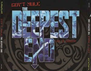 CD duplo + dvd - Gov't Mule ‎– The Deepest End ( cd duplo + dvd ) - IMP