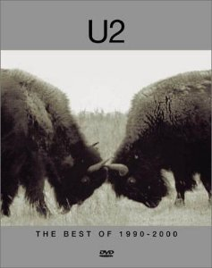 DVD - U2: THE BEST OF 1990-2000 (digpack