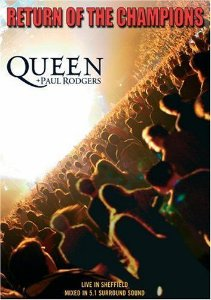 DVD -  QUEEN + PAUL RODGERS: RETURN OF THE CHAMPIONS