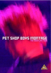 DVD - PET SHOP BOYS: MONTAGE - THE NIGHTLIFE TOUR