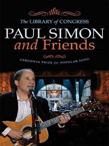 DVD -  Paul Simon ‎– Paul Simon And Friends: The Library of Congress Gershwin Prize for Popular Song