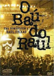 DVD - O BAU DO RAUL  Multishow ao vivo
