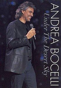 DVD - ANDREA BOCELLI: UNDER THE DESERT SKY