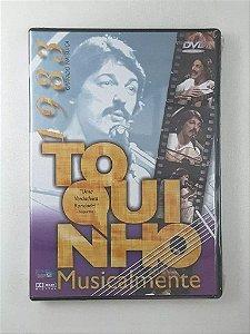 DVD - TOQUINHO MUSICALMENTE