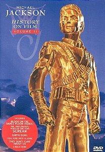 DVD - MICHAEL JACKSON: HISTORY ON FILM, VOL. 2