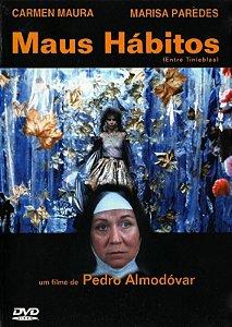 DVD - Maus Hábitos (Entre Tinieblas)