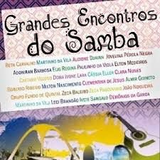 CD - Various ‎–  Grandes Encontros do Samba