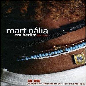 DVD - MAR`TNÁLIA EM BERLIM AO VIVO ( Cd+ Dvd )
