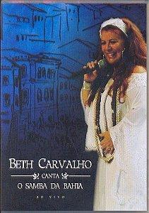 DVD - BETH CARVALHO CANTA O SAMBA DA BAHIA AO VIVO