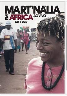 DVD - MART`NÁLIA EM AFRICA AO VIVO DVD + CD