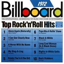 Various - Billboard Top Rock 'N' Roll Hits 1972
