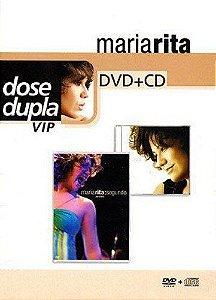 DVD - MARIA RITA - Dose Dupla - SEGUNDO (DVD+CD)