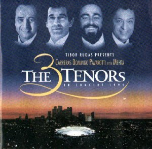 The 3 Tenors In Concert 1994 - Carreras - Domingo - Pavarotti With Mehta