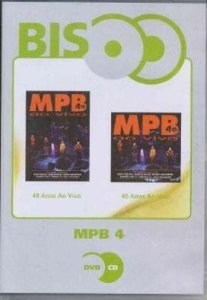 MPB4 40 ANOS AO VIVO DVD+CD