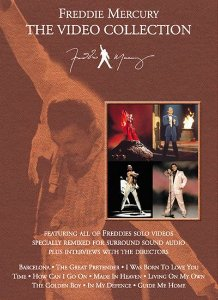 DVD -  FREDDIE MERCURY: THE VIDEO COLLECTION