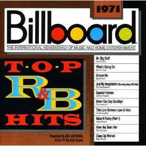 CD - Various -  Billboard Top R&B HITS - 1971 - IMP