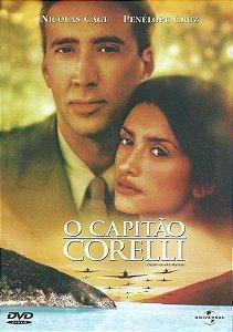 DVD - O Capitão Corelli (Captain Corelli´s Mandolin).