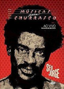 DVD -  SEU JORGE MUSICAS PARA CHURRASCO 1: AO VIVO -  Especial Duplo