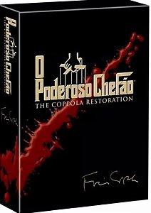 DVD  - O Poderoso Chefão - BOX
