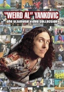 DVD -  'WEIRD AL' YANKOVIC: THE ULTIMATE VIDEO COLLECTION