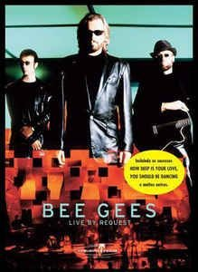 DVD -  BEE GEES LIVE BY REQUEST