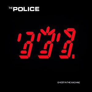 CD - The Police - Ghost In The Machine