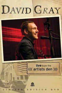 DVD -  DAVID GRAY LIVE FROM THE ARTISTS DEN  (1 livro + 1 dvd) - IMP