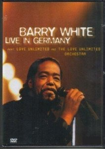 DVD -  BARRY WHITE LIVE IN GERMANY