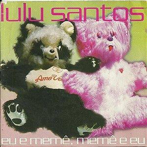 CD - Lulu Santos – Eu E Memê, Memê E Eu