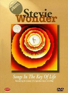 DVD - STEVIE WONDER - SONGS IN THE KEY OF LIFE