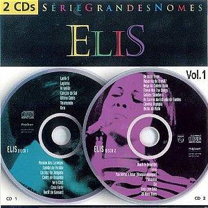 CD - Elis Regina - Série Grandes Nomes - Vol. 1 ( 2 Cds ) - Sem Contracapa