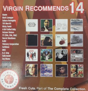 CD - Various - Virgin Recommends, Vol. 14   (Digipack)   - IMP