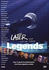 LATER... WITH JOOLS HOLLAND LEGENDS