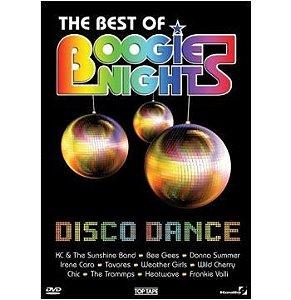 DVD - THE BEST OF BOOGIES NIGHTS DISCO DANCE (Vários Artistas)