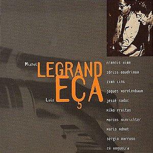 CD - Michel Legrand - Homenagem A Luiz Eça  (Digipack) -  ( CD duplo )